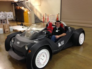 Worlds First 3D Printed Car