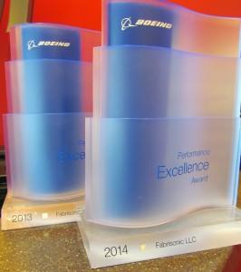 Fabrisonic Boeing Award